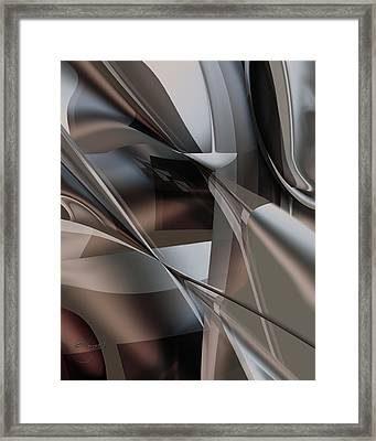 Framed Print featuring the digital art Lordlike Redux by Steve Sperry