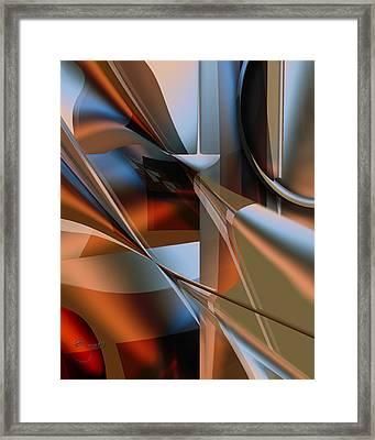 Framed Print featuring the digital art Lordlike by Steve Sperry
