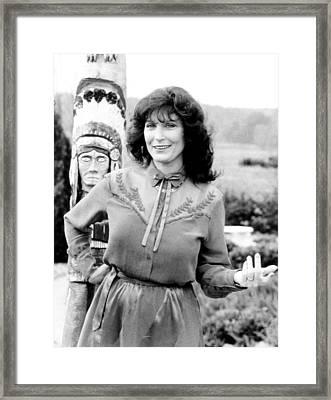 Loretta Lynn The Lady...the Legend Framed Print by Everett