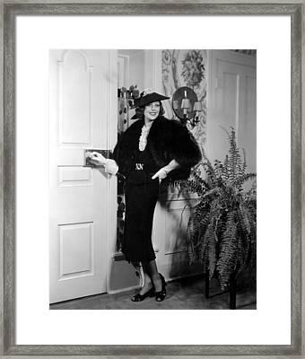 Loretta Young, Fox, 1937 Framed Print by Everett