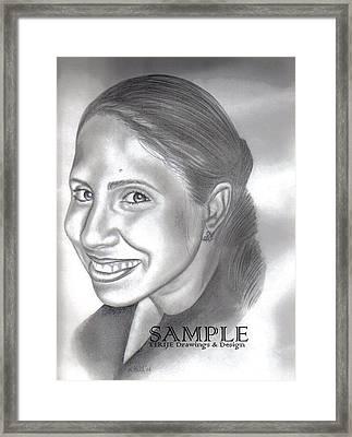 Lorna Villanueva Framed Print by Rick Hill