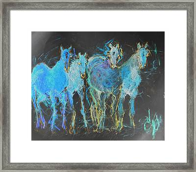 Los 4 Amigos 2 Framed Print