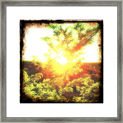 Los Alamos Sunset Framed Print