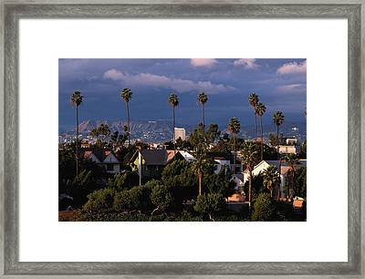 Los Angeles, California Framed Print by Larry Brownstein
