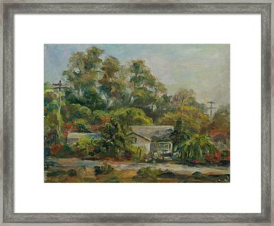 Los Rios Afternoon Framed Print