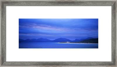 Losgaintir Beach, Harris, Scotland Framed Print by Lizzie Shepherd