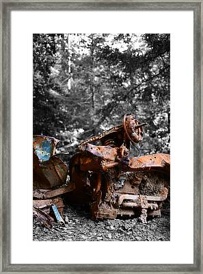 Lost And Forgotten Framed Print
