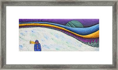 Lost Framed Print by Anne Klar