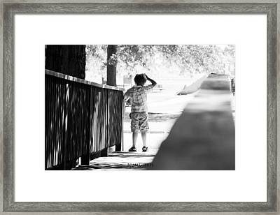 Lost Boy Framed Print by Adam Gerdes