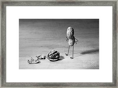 Lost Brains 02 Framed Print by Nailia Schwarz