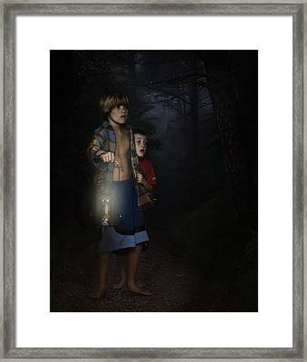 Lost Framed Print by Hazel Billingsley
