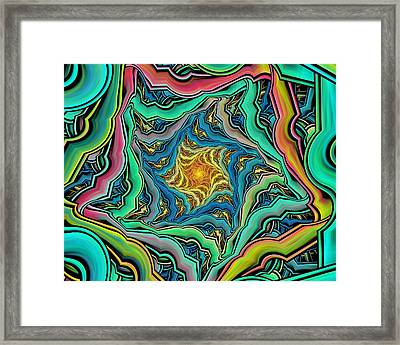 Lost In Color Framed Print by Georgiana Romanovna