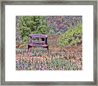 Lost In The Mountain Framed Print by Jason Abando