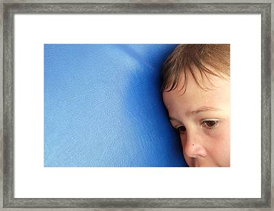 Lost In Thought Framed Print by Matthias Hauser
