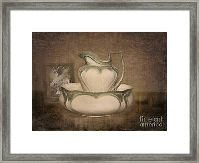 Lost In Time Framed Print by Betty LaRue