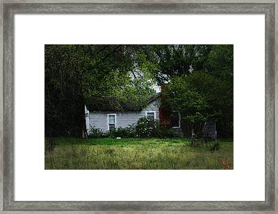 Lost In Time Framed Print by Kelly Rader