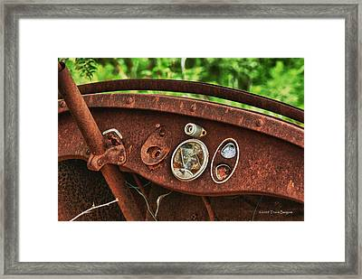 Framed Print featuring the photograph Lost Memories by Travis Burgess