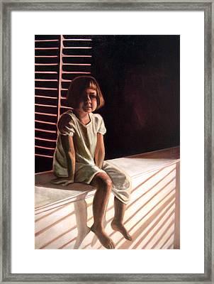 Lost Not Forgotten Framed Print by Leslie Rock