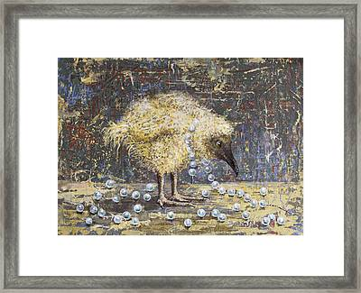 Lost Pearls Framed Print