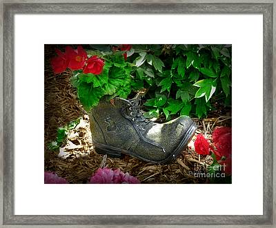 Lost Sole Framed Print