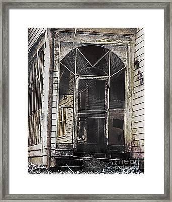 Lost Summer Sanctuary Government St Baton Rouge La Framed Print by Lizi Beard-Ward