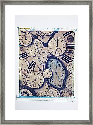 Lost Time Framed Print by Garry Gay