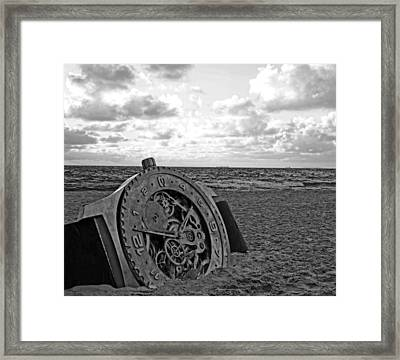 Lost Time Framed Print by Gordon Pressley