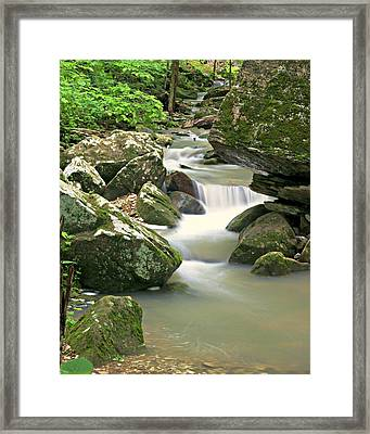 Lost Valley 1 Framed Print by Marty Koch