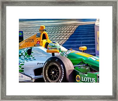 Lotus Framed Print by Glenn Thompson