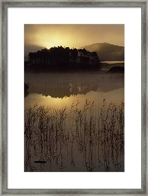 Lough Derryclare, Co Galway, Ireland Framed Print by The Irish Image Collection