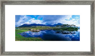 Lough Derryclare, Connemara, Co Galway Framed Print by The Irish Image Collection