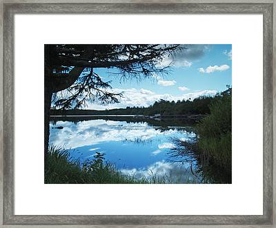 Lough Eske Framed Print