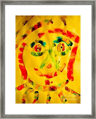 Louie Framed Print by Bill Davis
