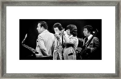 Louie Prima And Sam Butera And Rolli Dee Framed Print by Ercole Gaudioso