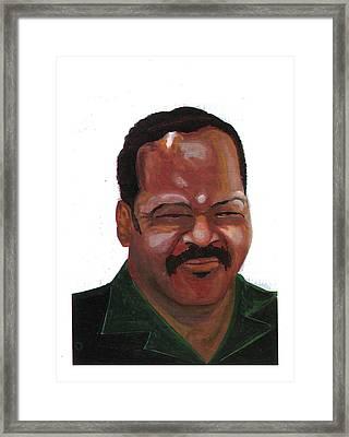 Louis Jackson Jesse Framed Print by Emmanuel Baliyanga