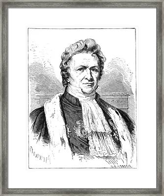 Louis-jacques Thenard, French Chemist Framed Print by
