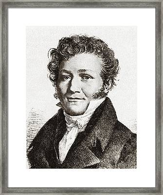 Louis-jacques Thenard, French Chemist Framed Print by Sheila Terry