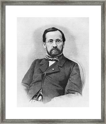 Louis Pasteur, French Chemist Framed Print by