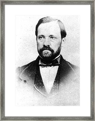 Louis Pasteur, French Chemist Framed Print by Science Source