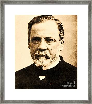 Louis Pasteur Framed Print by Pg Reproductions