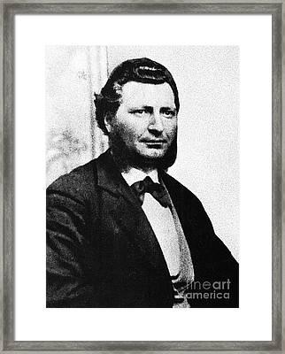 Louis Riel Framed Print by Granger