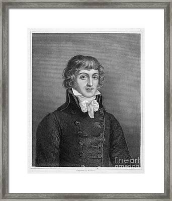 Louis Saint-just (1767-1794) Framed Print by Granger