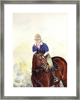 Louise And Bare Framed Print