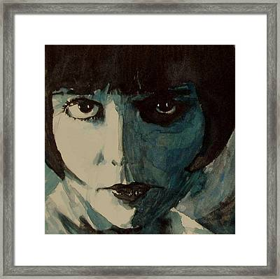 Louise Brooks Framed Print by Paul Lovering