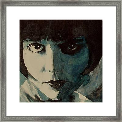 Louise Brooks Framed Print