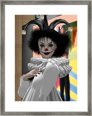 Louise Pagliacci Framed Print by Phil Strang