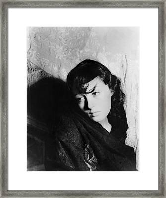 Louise Rainer (1910- ) Framed Print by Granger