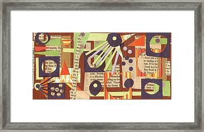 Louises Lash  Framed Print by Pegeen  Shean