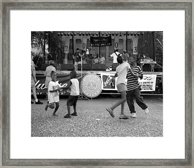Louisiana Folklife Festival  Framed Print