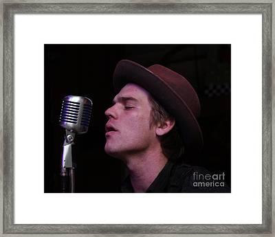 Louisiana House Rockers 01 Framed Print by Mark Guillory